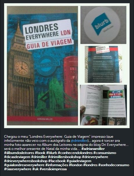 Instagram - Guia de Viagem Londres