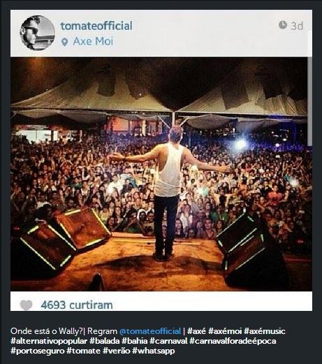 Instagram - Regram Tomate