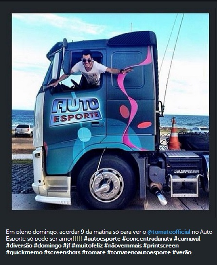 Instagram - Tomate no Auto Esporte 2