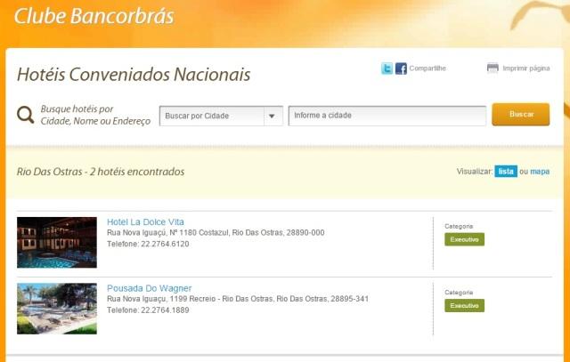 Hoteis Conveniados Rio das Ostras (RJ)