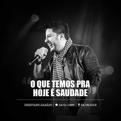 O que temos pra hoje é saudade - Cristiano Araújo